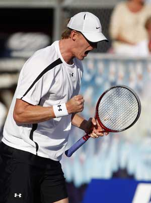 Kevin Anderson downs Feliciano Lopez to reach last eight at Queen