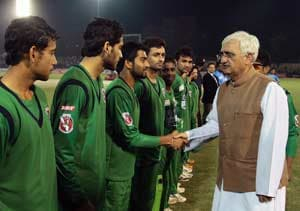Jamia crowd proves where real cricket is: Khurshid