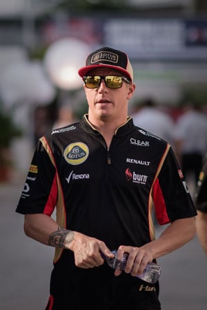Abu Dhabi Grand Prix: Kimi Raikkonen relegated to back of grid