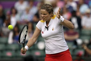 London 2012 Tennis: Kim Clijsters ousts Ana Ivanovic to reach quarters