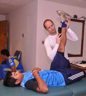 Delhi Daredevils physio focuses on strength, mobility screening
