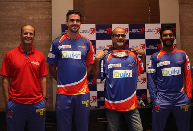 Indian Premier League: Delhi Daredevils unveil new jersey for season seven