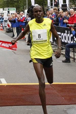 Delhi half-marathon like a walk for Kenya's Kitwara