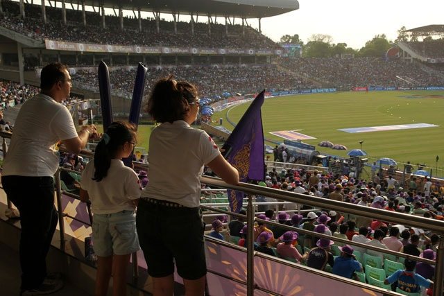 Indian Premier League Kolkata Knight Riders' Eden Bash Live