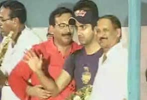Kolkata Knight Riders return to a rousing welcome