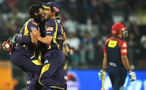 IPL 5: Kolkata earn a shot at the title, beat Delhi by 18 runs