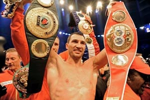 Klitschko happy to silence Haye's trash-talk