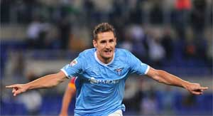 Miroslav Klose set to miss remainder of season