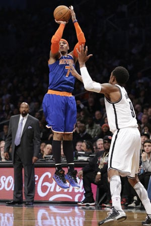 New York Knicks rally to overrun Brooklyn Nets 100-97