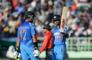 Virat Kohli misses a hat-trick of tons at Vizag, MS Dhoni becomes 6th Indian to register 50 ODI fifties