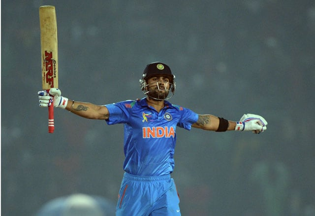 ICC World Twenty20: Virat Kohli's fiery fifty helps India storm into final