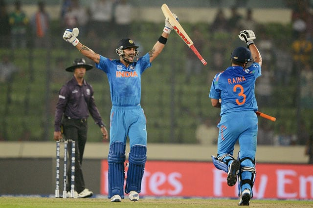 ICC World Twenty20: India register comprehensive seven-wicket win over Pakistan in tournament opener