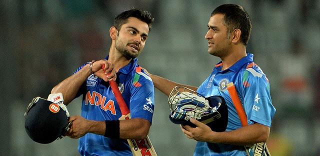 World T20: Virat Kohli gratefully accepts MS Dhoni's 'gift'