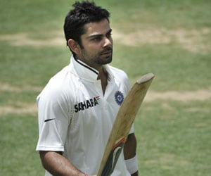 Sorry India need some luck, says Kohli