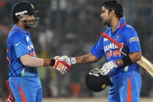 Rohit Sharma is a captaincy material, feels Virat Kohli