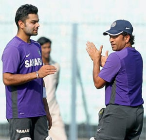 Virat Kohli wants to emulate a fit Sachin Tendulkar at 40