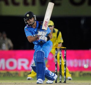 Virat Kohli smashes 17th ODI ton as India chase Australia's 350/6