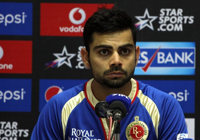 IPL 7: Virat Kohli Rues 'Lack of Yorkers' in Royal Challengers Bangalore's Loss to Sunrisers Hyderabad