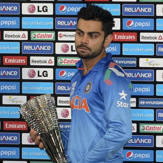 Virat Kohli wins Man of the Tournament award in ICC World T20