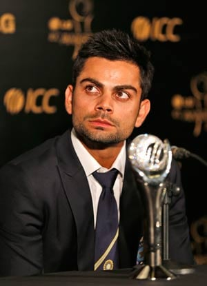 Virat Kohli is ICC ODI Player of the Year