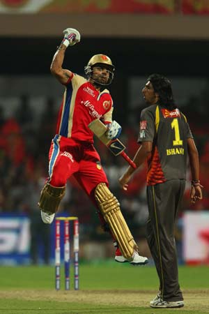 Bangalore defeat Hyderabad: Statistical highlights from the IPL match