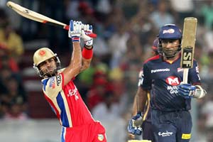 IPL 2013 Preview: Clash against Delhi Daredevils a potential banana skin for Bangalore Royal Challengers