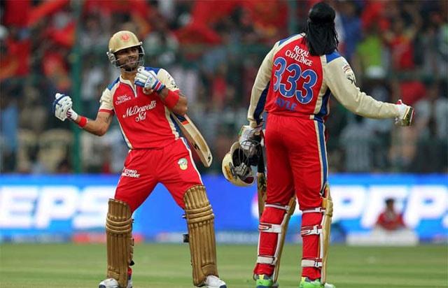 Royal Challengers Bangalore retain Virat Kohli, Chris Gayle and AB de Villiers for IPL 2014