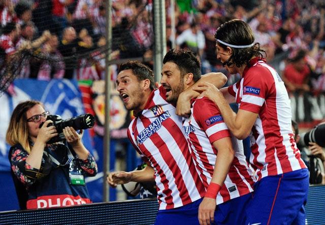 Atletico Madrid stun Barcelona to reach UEFA Champions League semi-finals