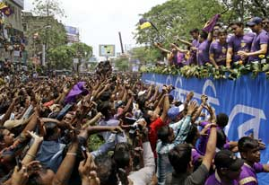 IPL: Purple haze envelops Kolkata