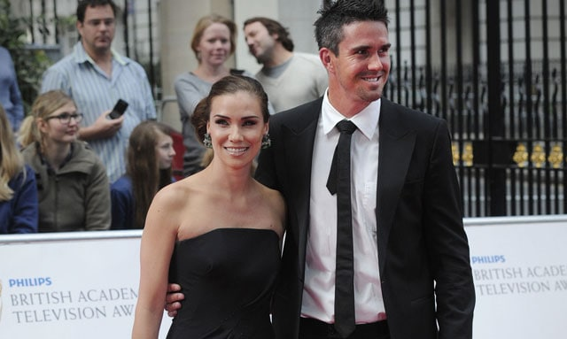 Kevin Pietersen's pop-star wife Jessica Taylor blasts Dominic Cork over 'altercation' claims