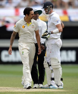 The Ashes: England uneasy about facing me, says Mitchell Johnson