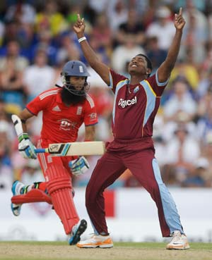 West Indies defeat England by 5 wickets, claim Twenty20 series