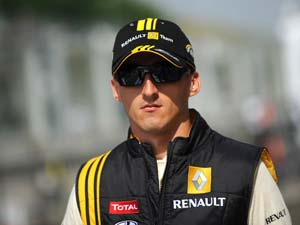 Kubica to miss start of 2012 F1 season