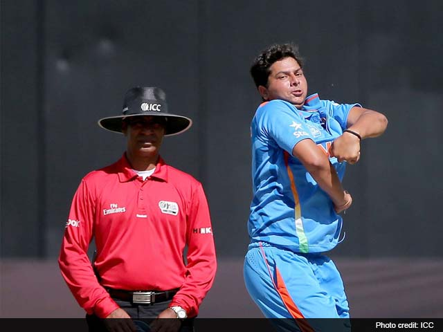Kuldeep Yadav's hat-trick takes India to Under-19 World Cup quarters