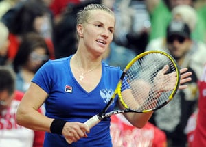Kuznetsova brings Russia level with Serbia
