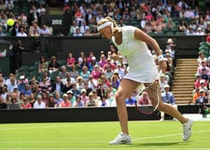 Champion Kvitova struggles into Wimbledon second round