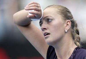 Petra Kvitova loses in Sydney semis; Juan Matin del Potro advances