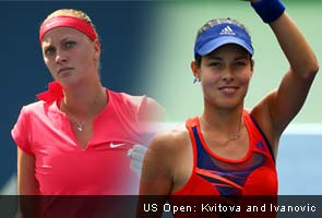 US Open: Petra Kvitova battles past Doi while Ana Ivanovic cruises