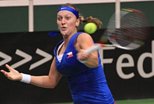 Defending champions Czech Republic beat Australia in Fed Cup Round 1