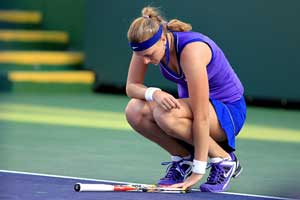 Petra Kvitova out of Indian Wells