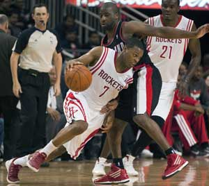 Rockets beat Trail Blazers 107-105 in overtime