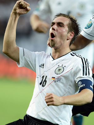 Euro 2012: Germans weren't clever enough, admits Lahm