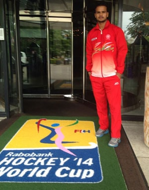 Lalit Upadhyay Joins Indian Hockey Team in Place of Ramandeep