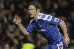 Frank Lampard blow for Chelsea