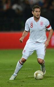 Frank Lampard rescues a point for lacklustre England