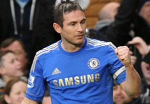 Police probe after coins thrown at Lampard, Terry