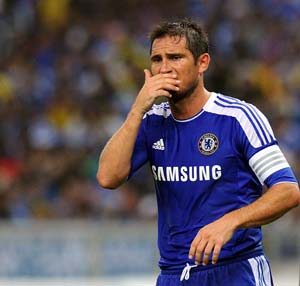 Lampard ready for toughest test against Barca