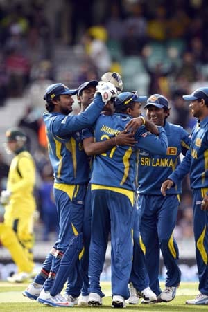 Champions Trophy: Sri Lanka shut out Australia, set up semis clash vs India