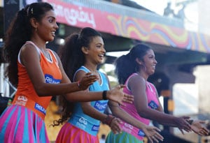 Sri Lankan cheerleaders branded an 'eyesore'