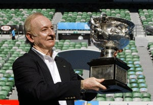 Laver returns 50 years after Grand Slam